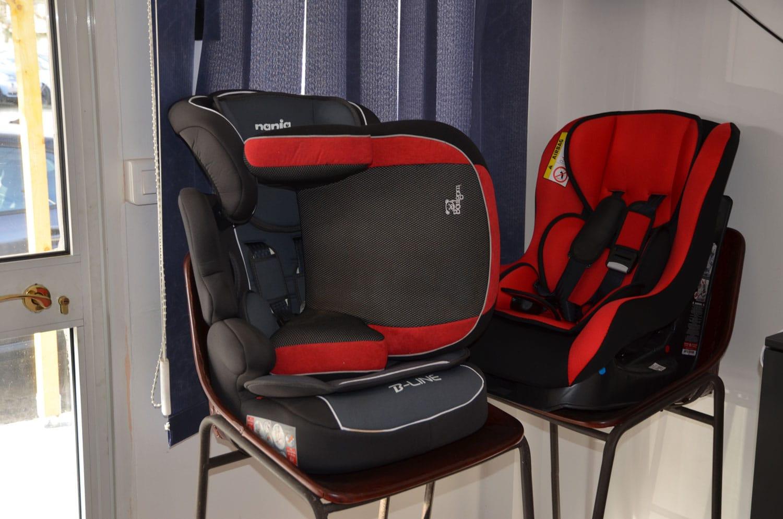 sièges enfants pour navettes